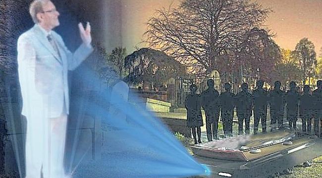 İsteyen hologramla kendi cenazesine katılabilecek