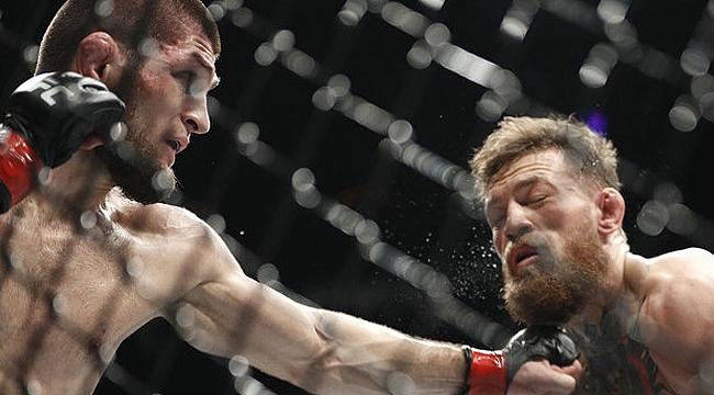 Khabib, McGregor'u mağlup etti