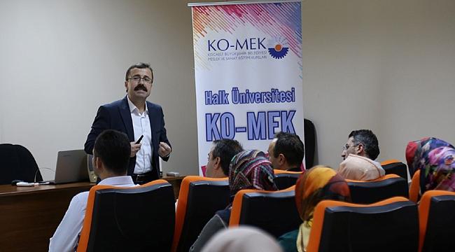 KO-MEK'ten usta öğreticilerine aidiyet eğitimi