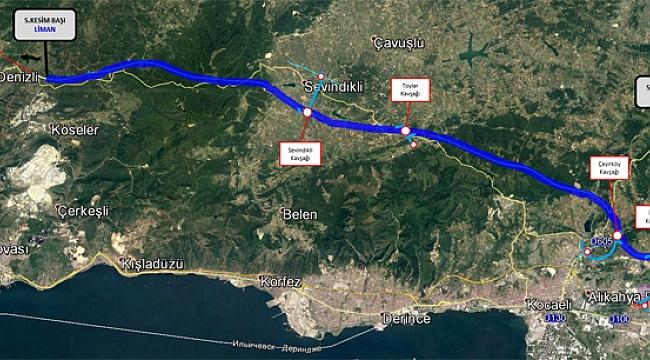 Kuzey Marmara Otoyolu Projesi'nde kamulaştırma