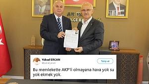 'AKP' diyen yazar AK Parti'den aday!