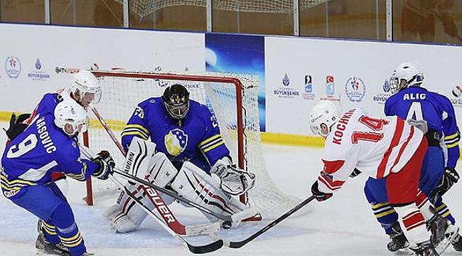 Buz hokeyi maçları Gebze'de