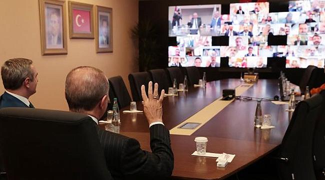 Erdoğan'dan ilçe başkanlarına İstanbul talimatı