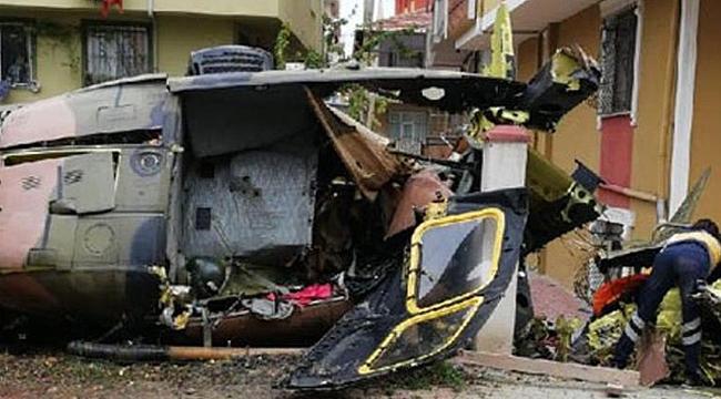 Helikopter düştü; 4 Şehit