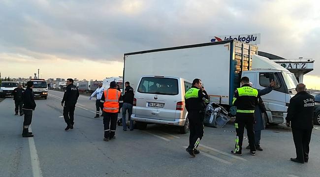 İnönü'de kaza; 4 yaralı