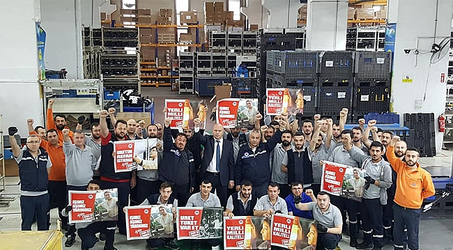 Türk Metal'den 'Kendi ürettiğini tüket' çağrısı