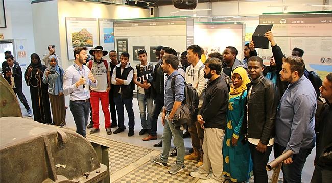 Uluslararası öğrenciler Gez Gör'le Kocaeli'nde