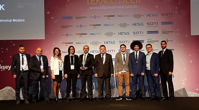 'Dijital Dönüşüm Projesi' ödülü GOSB'un