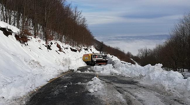 Ekipler karla mücadeleye hazır