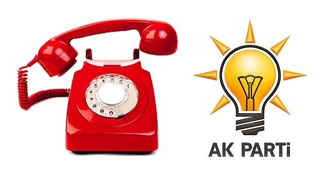 AK Partililer o telefona kitlendi