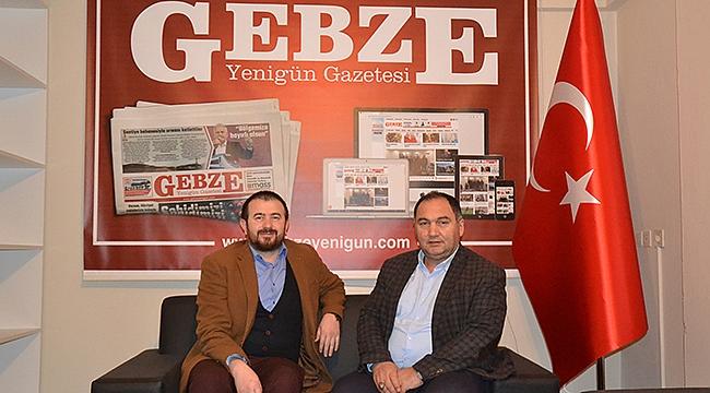 Başkan Yeşilyurt'tan gazetemize ziyaret!