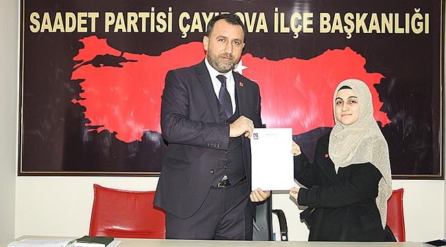 Saadet Çayırova'da kadın adaylar