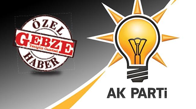 AK Parti Gebze'nin meclis üyeleri adayları!