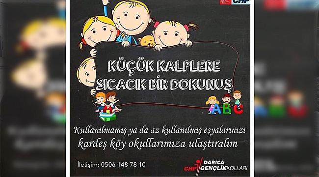 CHP'li gençlerden anlamlı organizasyon