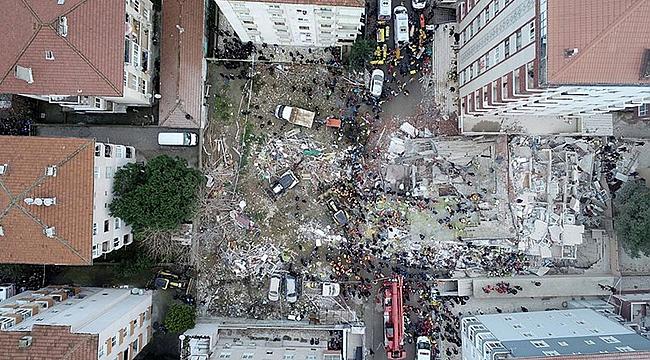 Çöken binada ölenlerin sayısı 17'ye yükseldi