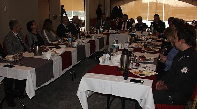 Seçim güvenliği toplantısı gerçekleştirildi
