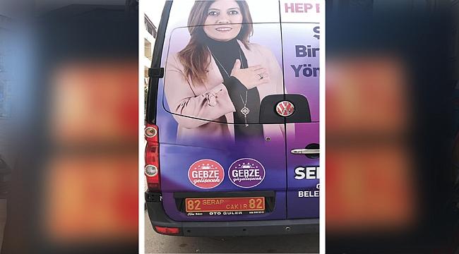 Serap Çakır'ın araçlarında 82 detayı!