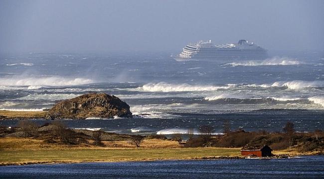 Cruise gemisinden 397 kişi kurtarıldı