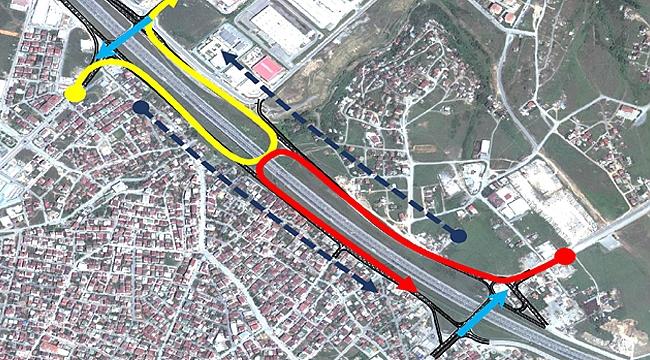 Gebze'deki yan yollara düzenleme