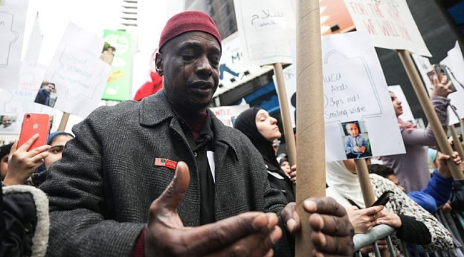 New York'ta İslamofobi'ye karşı birlik protestosu