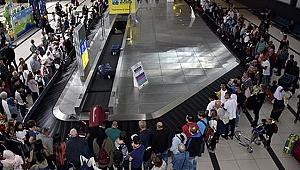 Türkiye 39.5 milyon turistle rekor kırdı
