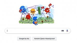 23 Nisan'a özel doodle