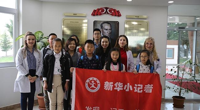 Çinli çocuklar Kocaeli'ne geldi