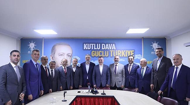 Cumhur İttifakı'nın başkanları bir araya geldi