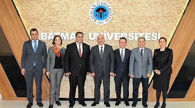 GTÜ ve Batman Üniversitesi arasında işbirliği