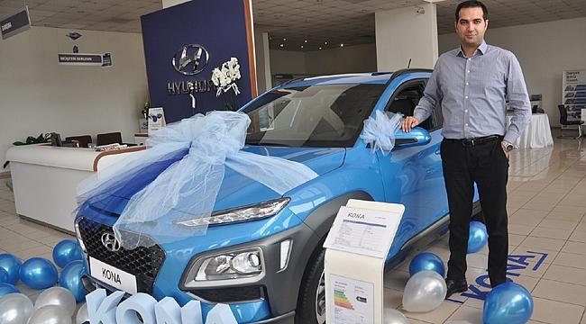Hyundai KONA Gör-Tan Otomotiv'de sergileniyor
