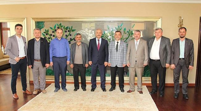 Yeniden Refah'tan Büyükgöz'e ziyaret