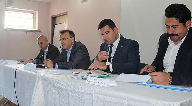 Çayırova'da halk ve güvenlik toplantısı