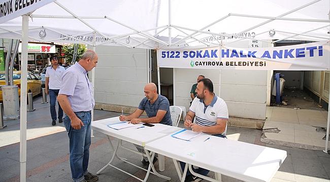 Çayırova'da hizmet anketi yapılıyor