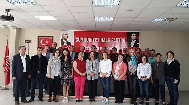 CHP Çayırova'dan Tuzla'ya destek