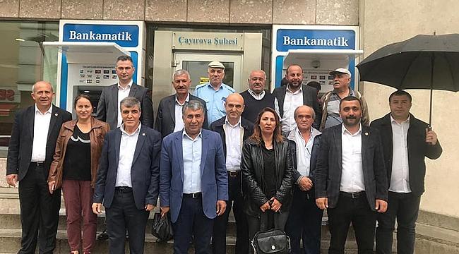 CHP Çayırova, İmamoğlu'na destek verdi