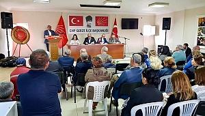 CHP Gebze, danışma toplantısı yaptı