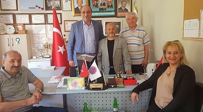 CHP Gebze'den muhtarlara ziyaret