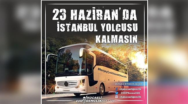 CHP'nin gençleri İstanbul'a götürecek