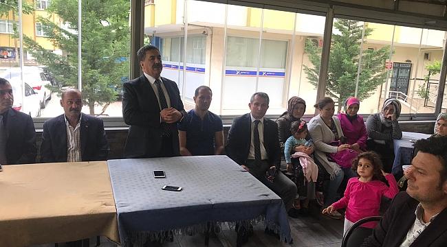 Güler, Sultanorhan'da vatandaşlarla buluştu
