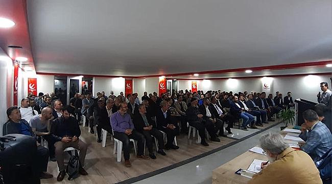 Yeniden Refah'tan coşkulu divan toplantısı