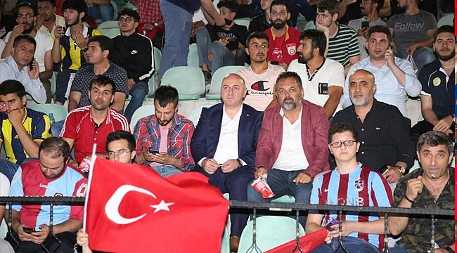 Başkan Bıyık'ın Milli maç heyecanı