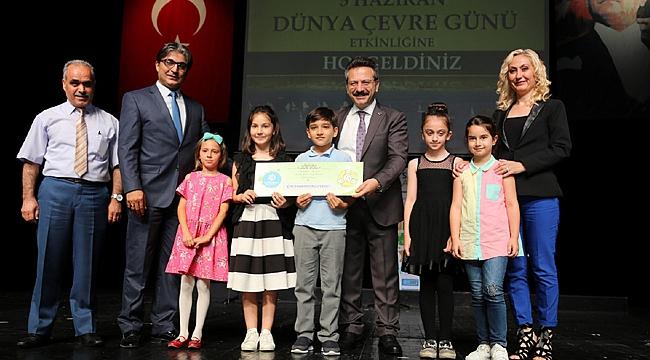 Çevre Günü kutlamasında Gebze'ye ödül yağdı