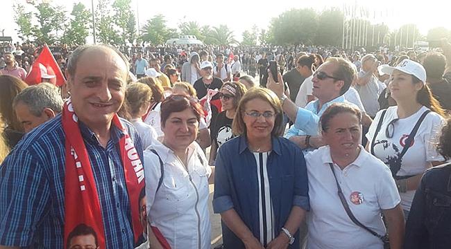 CHP Gebze, İmamoğlu'na desteğe gitti