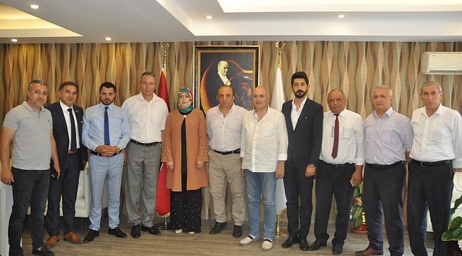 CHP heyeti Kaymakam Karaman'a gitti