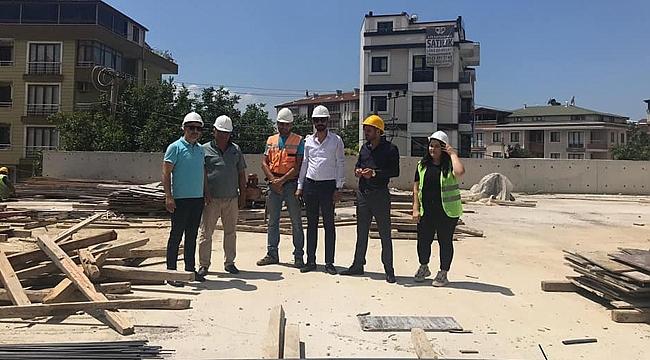 CHP'li meclis üyeleri kapalı pazarı inceledi