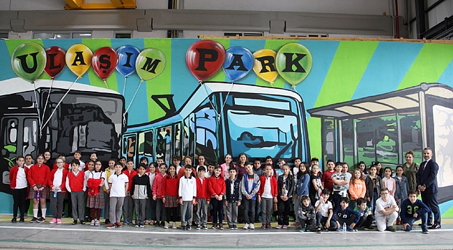 Çocuklar UlaşımPark'la eğlenirken öğreniyor