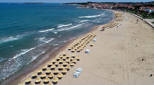 Kocaeli'nin plajları sezona hazır