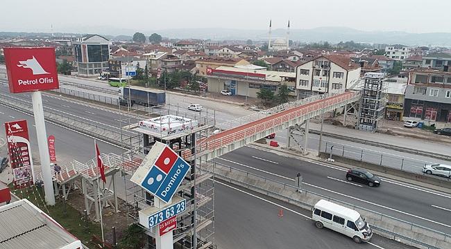 Köseköy'e modern üst geçit