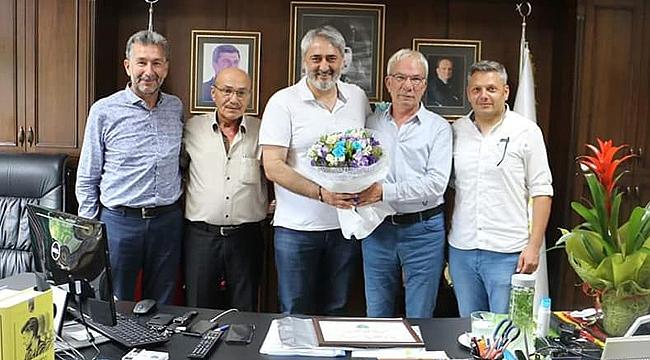 Saha komiserleri Aydın'ı kutladı