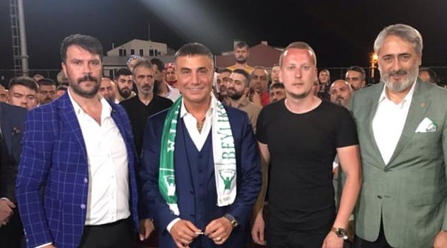 Sedat Peker, Tayfa'yı onurlandırdı